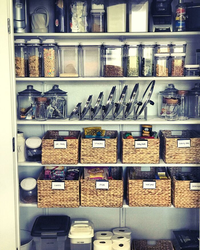 First Post (Be Kind!): Pantry Organization In My New Home