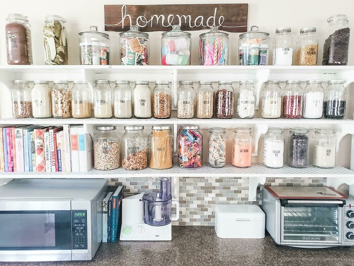 Organized My Baking And Pantry Items!