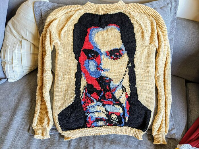 My Wednesday Addams Sweater