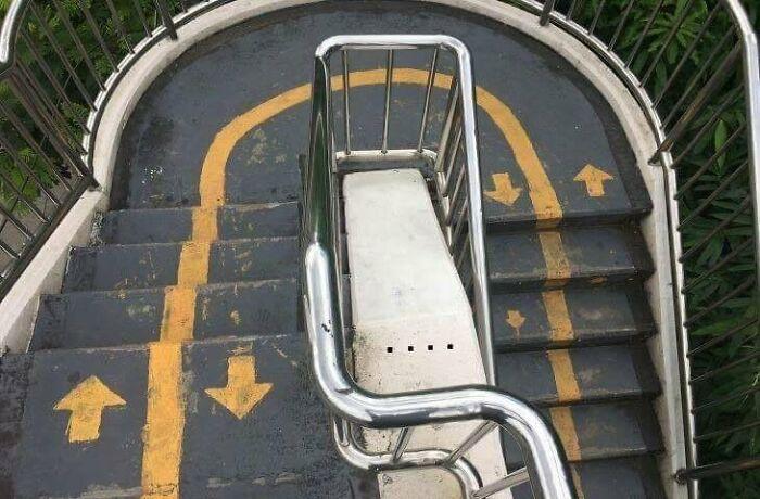 Quantum Stairs