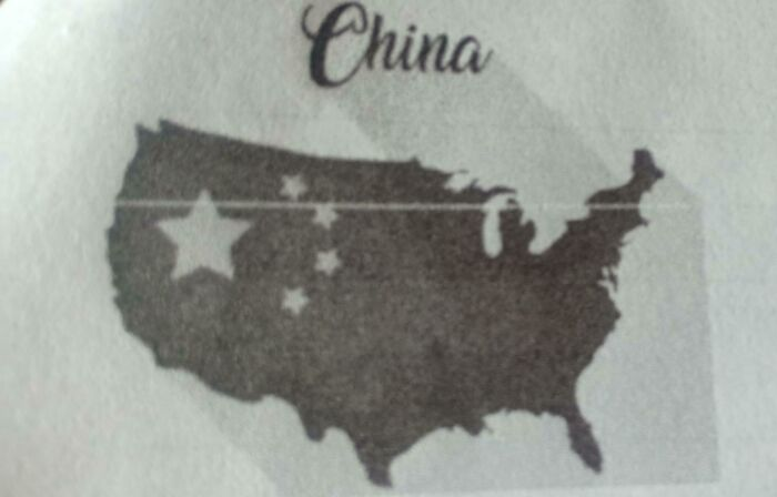 China Looks A Little Odd
