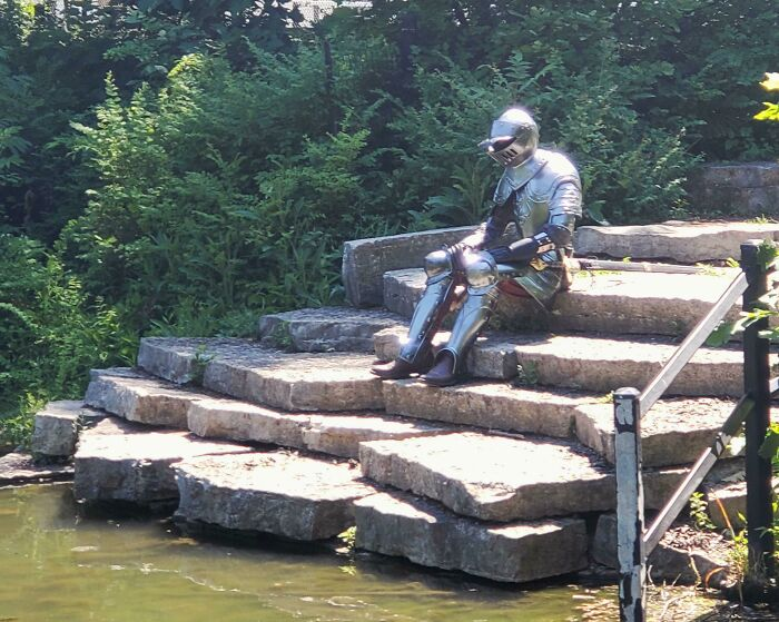 Saw A Knight In The Park The Other Day
