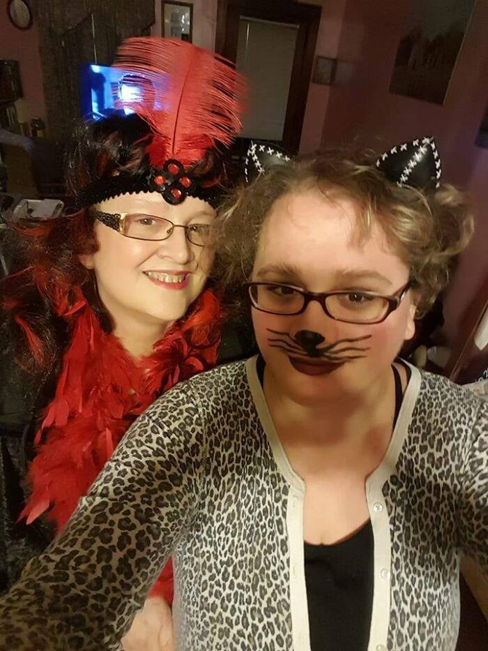 My Mom And I On Halloween!