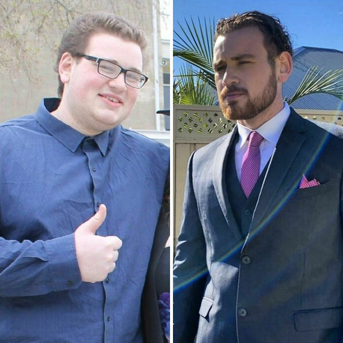 18 - 23 Went Through A Weightloss Journey And Learnt How To Look After And Groom Myself