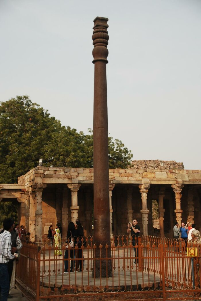 Aliens Are Not Responsible For This Ancient Iron Pillar Not Rusting
