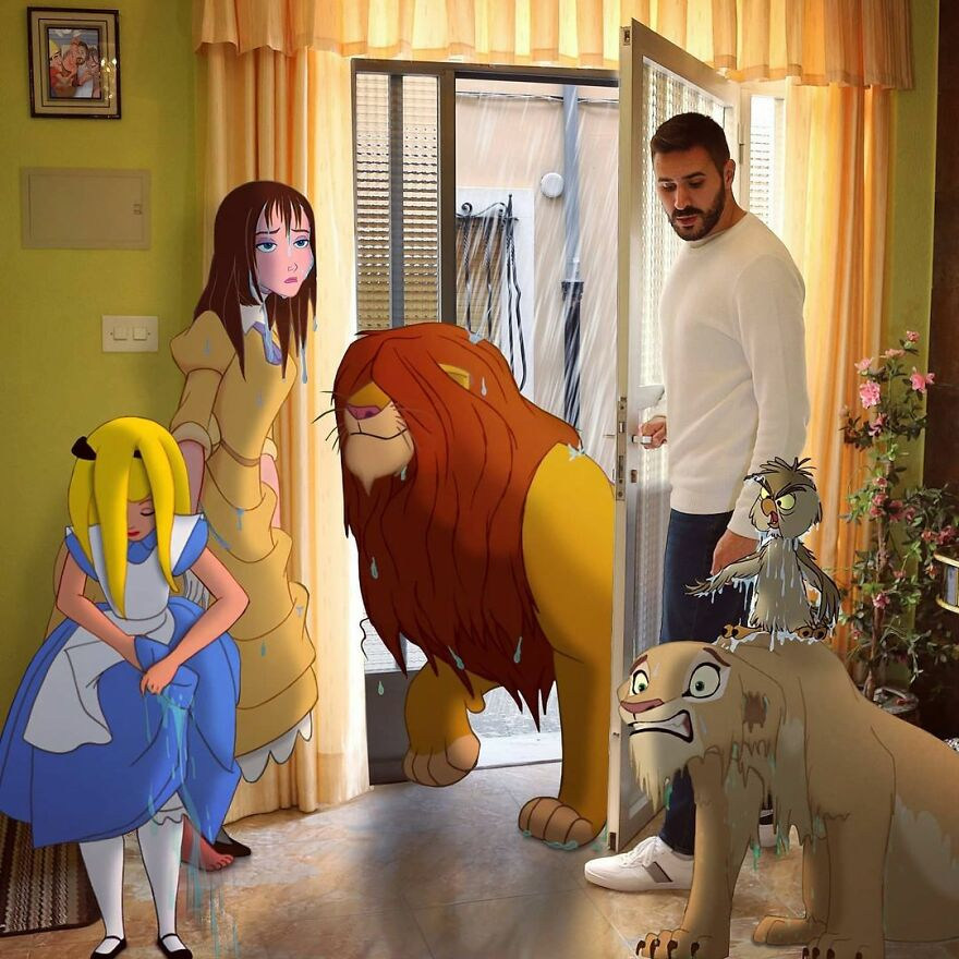 Digital-Art-Disney-Characters-Reality-Combination-Photoshop-Samuelmb1991-Part2