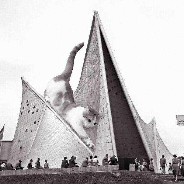 Philips Pavilion; Iannis Xenakis/ Le Corbusier Firm, B.1958 D.1959, Brussels, Belgium