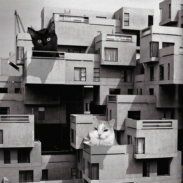 Habitat 67; Moshe Safdie, 1967, Montreal, Quebec