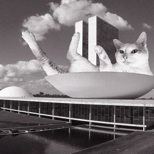 National Congress Of Brasilia; Oscar Niemeyer, 1960, Brasilia, Brazil