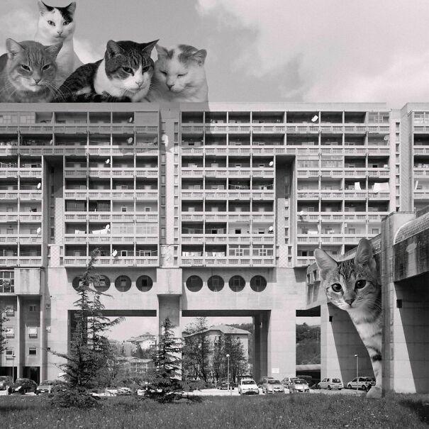 Il Quadrilatero (Ater), Rozzol Melara Complex; Carlo Celli & Luciano Celli, 1969 - 1983, Trieste, Italy