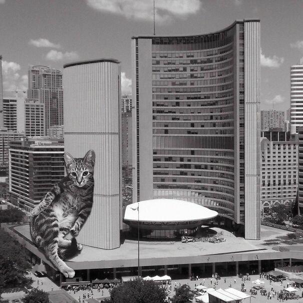 Toronto City Hall; Viljo Revell, Bruce Kuwabara, 1965, Toronto, Canada