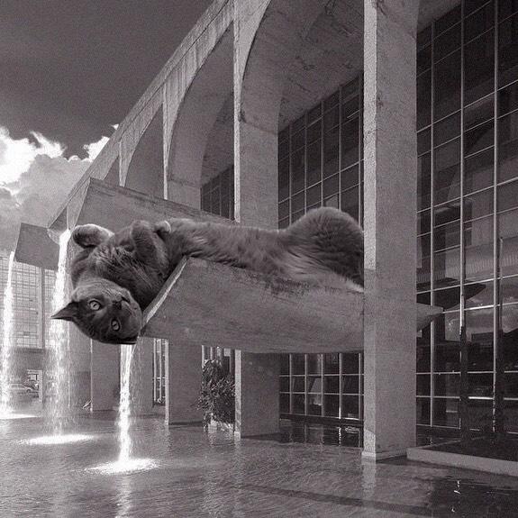 Palácio Da Justiça; Oscar Niemeyer, 1962, Brasilia, Brazil