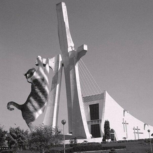 Cathédrale Saint-Paul D'Abidjan; Aldo Spirito, 1985, Abidjan, Côte D'ivoire
