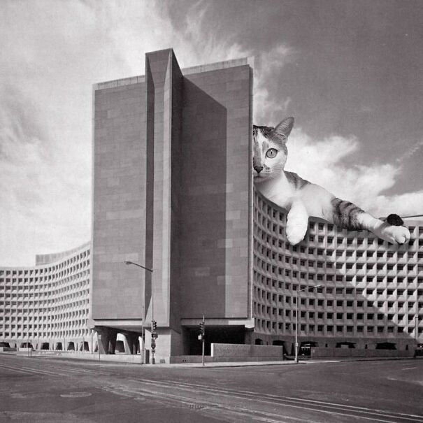 Robert C. Weaver Federal Building; Marcel Breuer, 1965, Washington, D.C.