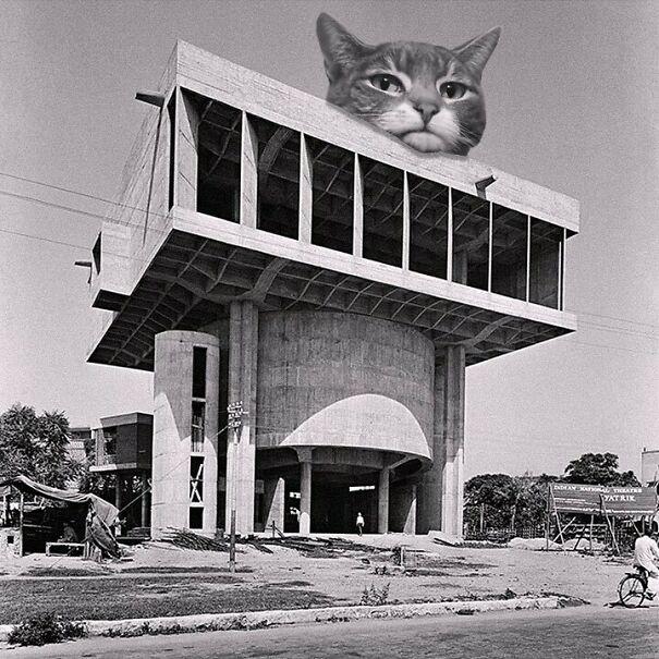 Shri Ram Center For Art And Culture; Shiv Nath Prasad & Mahendra Raj, 1969, New Delhi, India