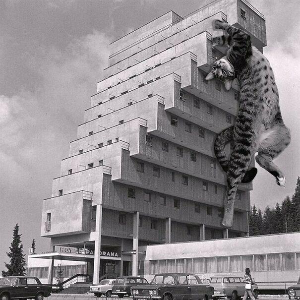 Hotel Panorama Resort; Zdeněk Řihák, 1969, Štrbské Pleso, Slovakia