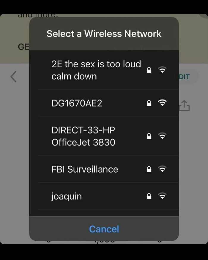 What Are You Naming Your WiFi Network?