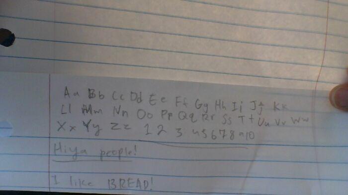 I Have Pretty Good Handwriting Right??