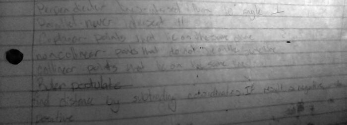 Too Lazy To Write Something New So Yall Get My Math Notes