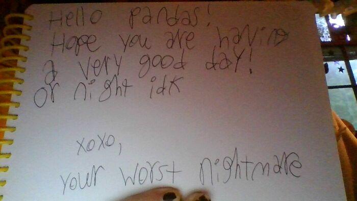 I Have Bad Handwriting Lol