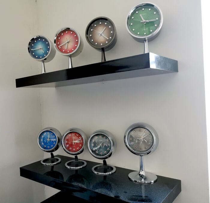 I Collect 'Space Age' Design Clocks, From The Late 60's And Early 70's