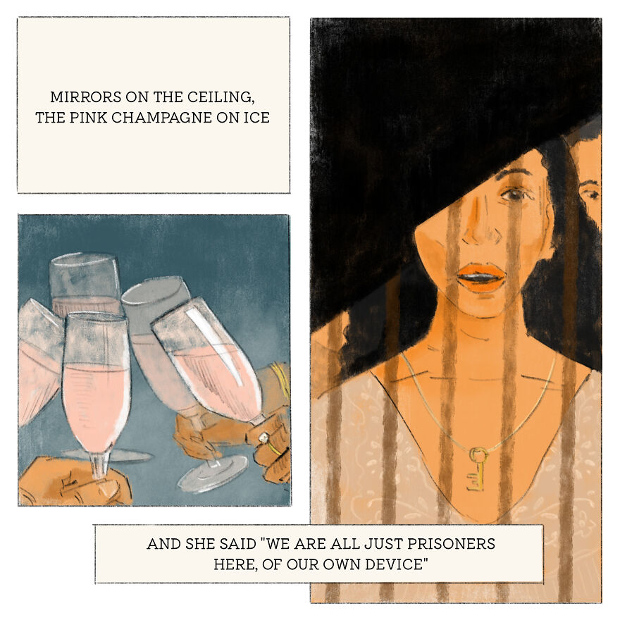 I Spent Over 60 Days Making A Graphic Novel Version Of My Favorite Song, Hotel California