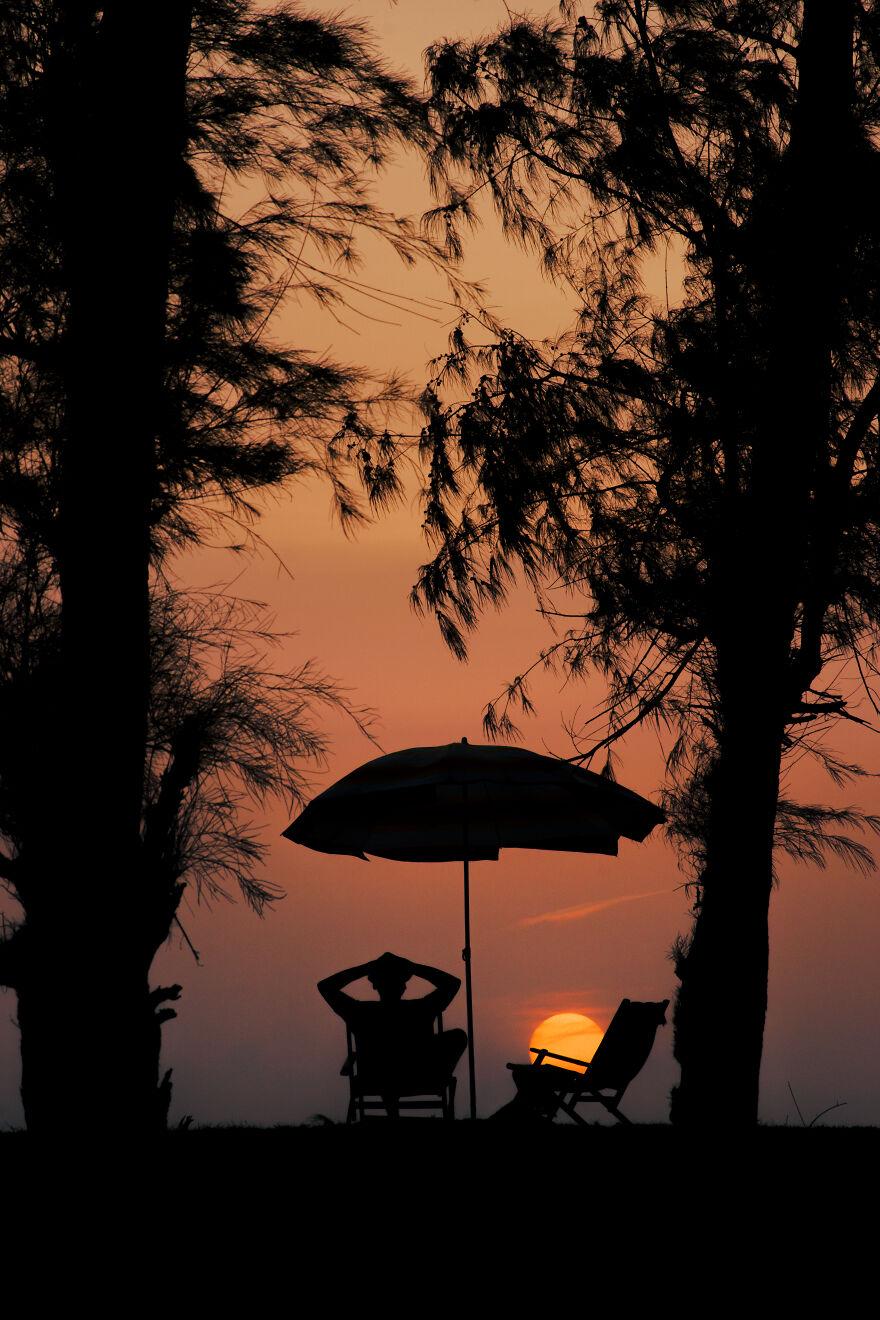 Chilling A̶t̶ With Sunset