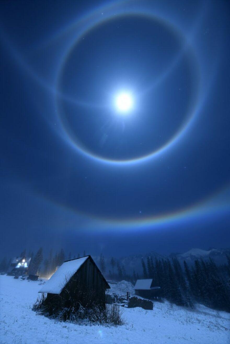 """Moon Halo"" By Bartlomiej Jurecki"