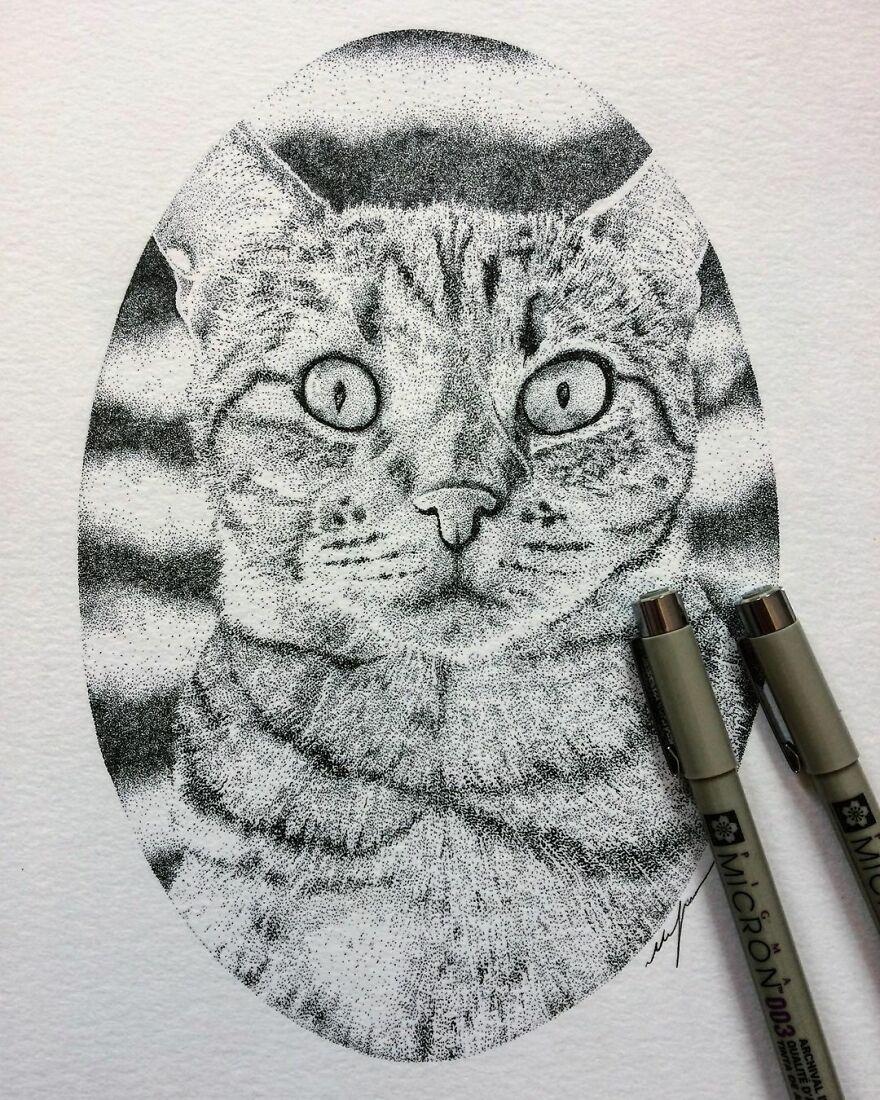 Stippling Illustrations