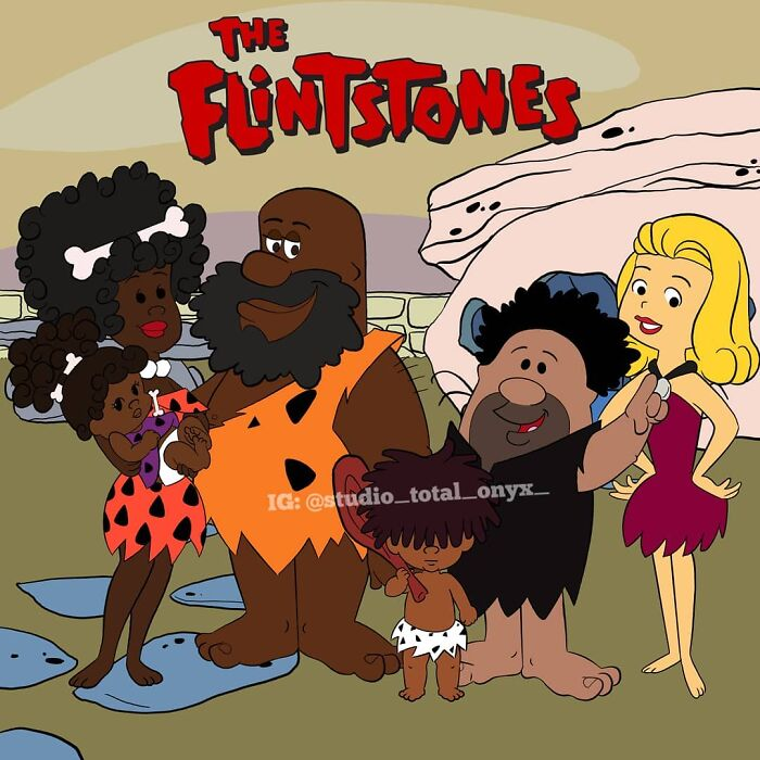 This Artist Makes Black Characters For Classic Cartoons (New Pics)