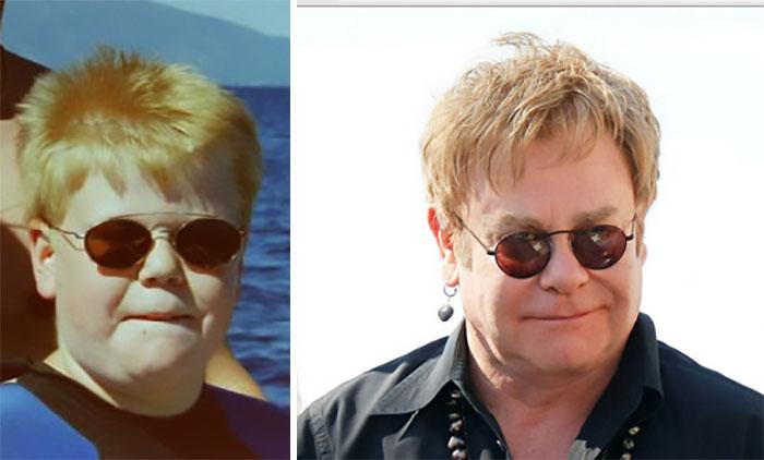 El pequeño Elton