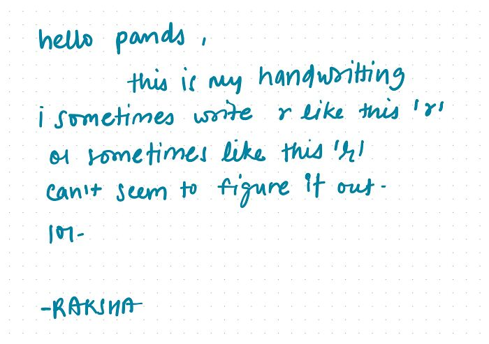 Goodnotes Makes My Handwriting A Little Descent..