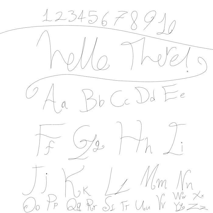 Digital Handwriting