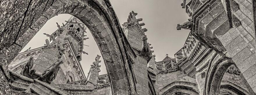 Le Mont Saint-Michel Pendant Son Confinement