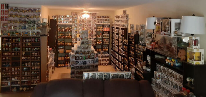 1,685 Funko Pops (Many Not Pictured) W/ 82 More Preordered Between Now & September