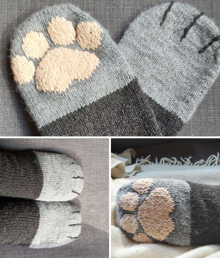 I Made These Socks That Turn Feet Into Paws. Also, How Does Anyone Even Do Sock Photography