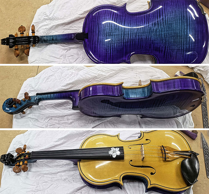 First Violin Is Finished!