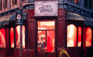 """I Built The Town Of Castle Rock As A Tribute To Stephen King's Novel """"Needful Things"""""""