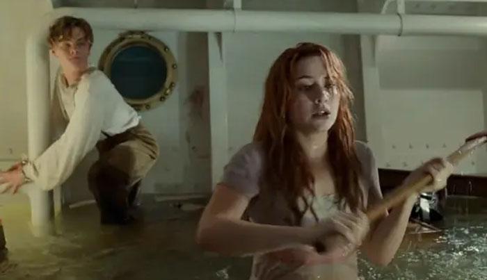 Todos en Titanic sabían que el agua iba a estar fría, pero no estaban preparados para lo helada que estaba. El agua estaba tan helada que Kate Winslet no podía dejar de temblar durante la escena del hacha