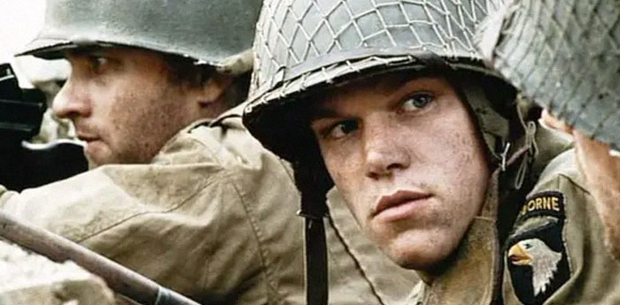 To Prepare For Saving Private Ryan, All The Main Cast Members Were Sent To A Harsh 10-Day Boot Camp, Except For Matt Damon, Who Stayed In America. Matt's Character Was Resented By Everyone, And He Was Purposefully Excluded So That The On-Screen Hostility Would Be As Realistic As Possible