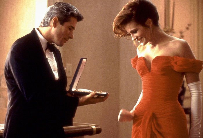 Julia Roberts, 'Pretty Woman' - Richard Gere cerró inesperadamente el joyero y su sorpresa fue real
