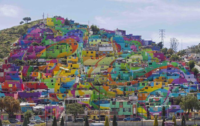 La ciudad mexicana de Pachuca es un gran mural