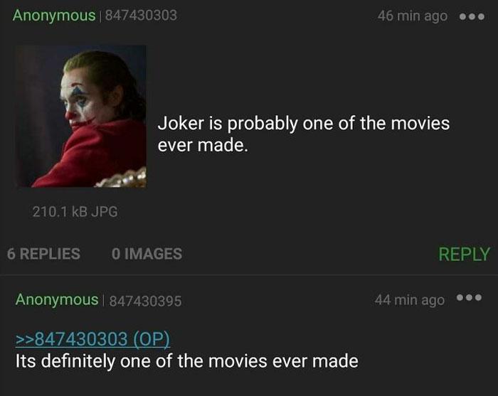 Anon Knows The English Language