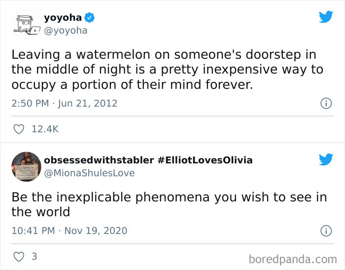 Be The Inexplicable Phenomena You Wish To See In The World