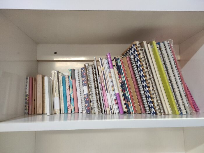 Cute Notebooks. 54 In Total. Almost Half Of Them Still In The Packaging