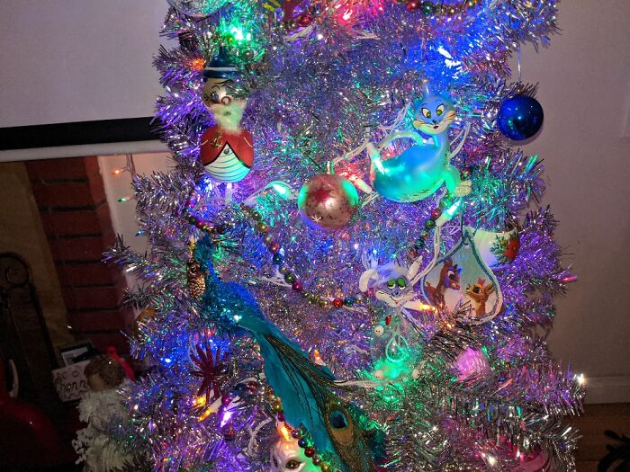 Antique Blown Glass De Carlini Christmas Ornaments