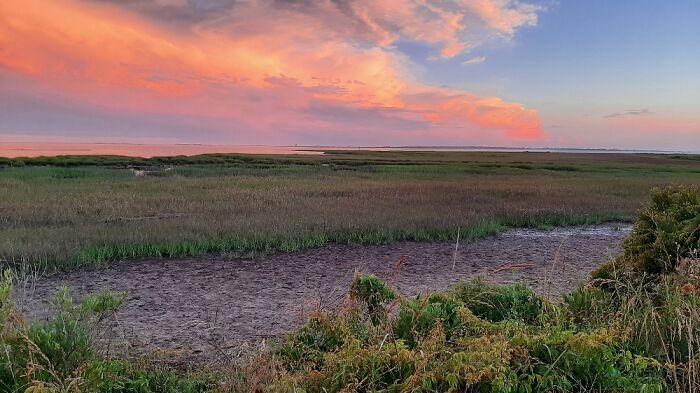 Sunset On Assateague Island, Virginia.