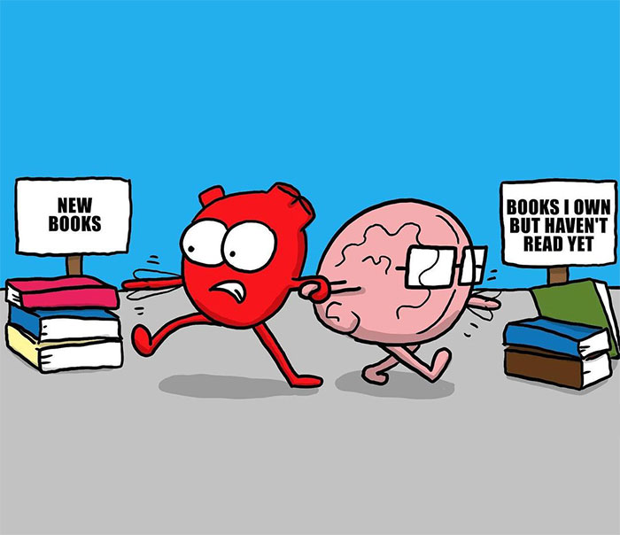 This Artist Perfectly Portrays The Battle Between Our Emotions And Intellect With His 30 Comics (New Pics)