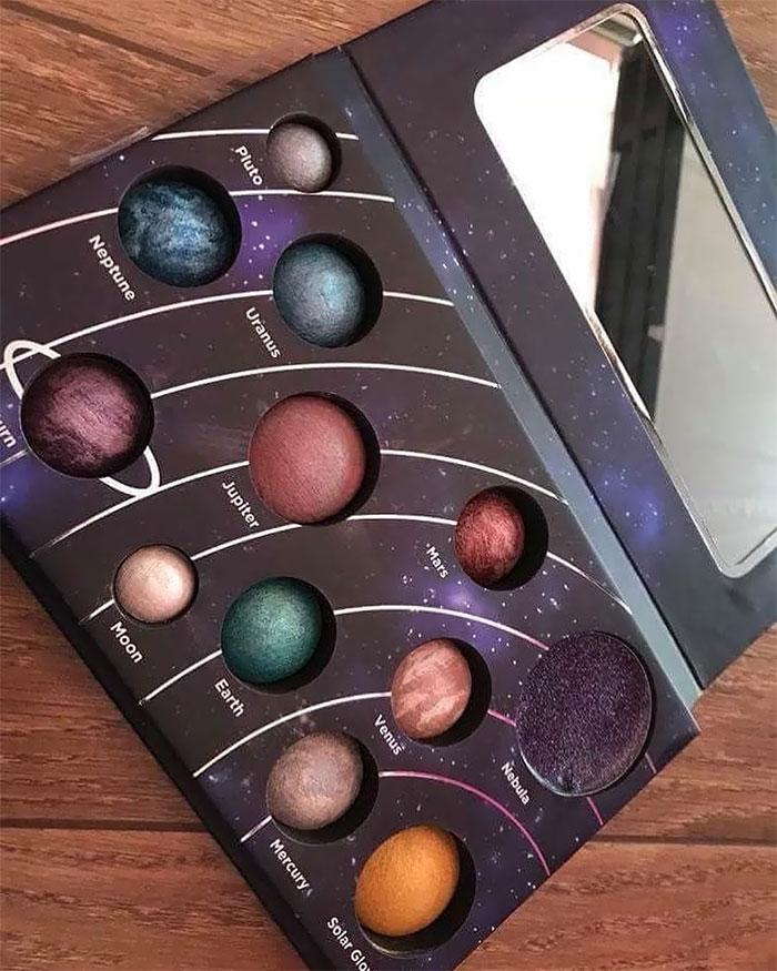 Astronomical Makeup Palette