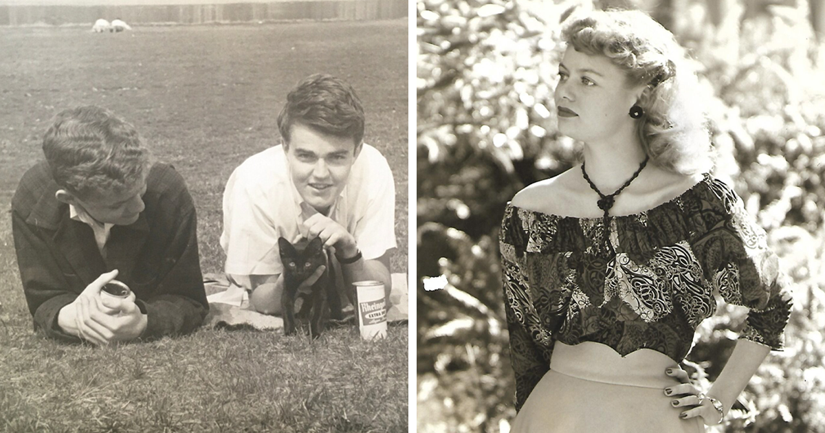 30 People Share Vintage Pics Of How Cool Their Parents And Relatives Were In Their Youth